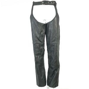 leather king motorcycle pants medium